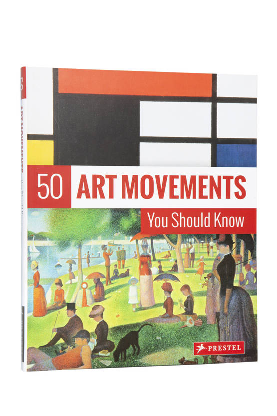 50 ART MOVEMENTS YOU SHOULD KNOW KIRJA - Taide, design & arkkitehtuuri kirjat - 9783791384573 - 1