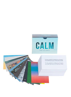 CALM CARDS FOR SERENITY INSPIRAATIOKORTIT -  - 5060538150528