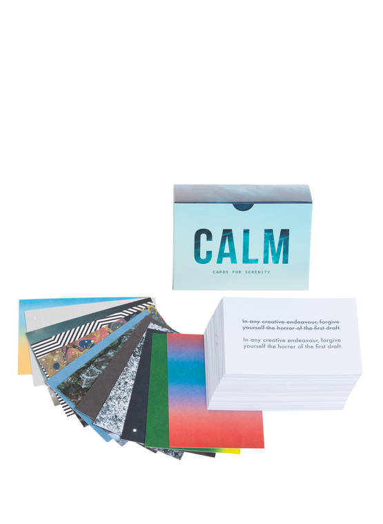 CALM CARDS FOR SERENITY INSPIRAATIOKORTIT -  - 5060538150528 - 1